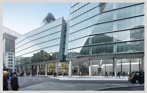 Oficinas premium en 100 Bishopsgate, Londres