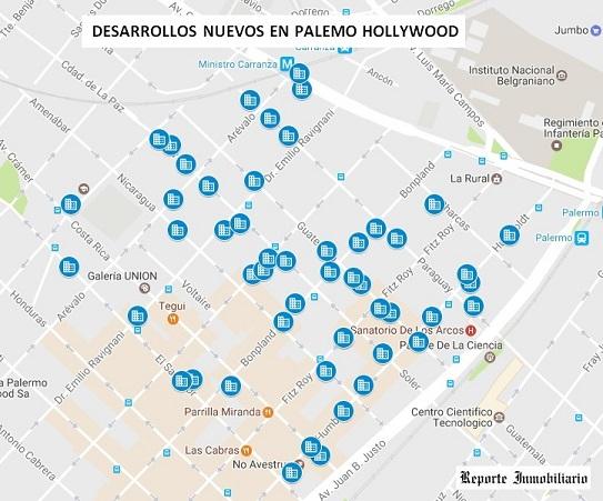 Relevamiento estrenar en Palermo Hollywood