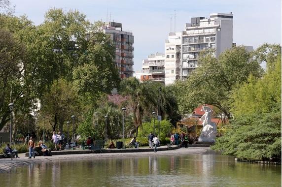 Departamentos a estrenar en Parque Centenario