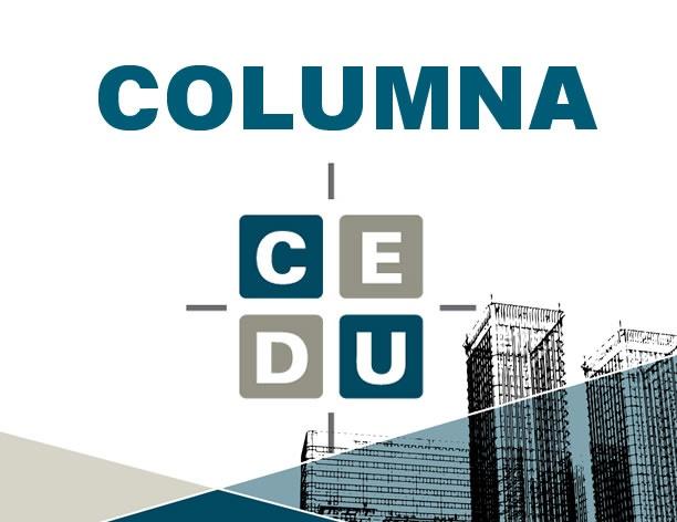 COLUMNNA CEDU EN REPORTE INMOBILIARIO