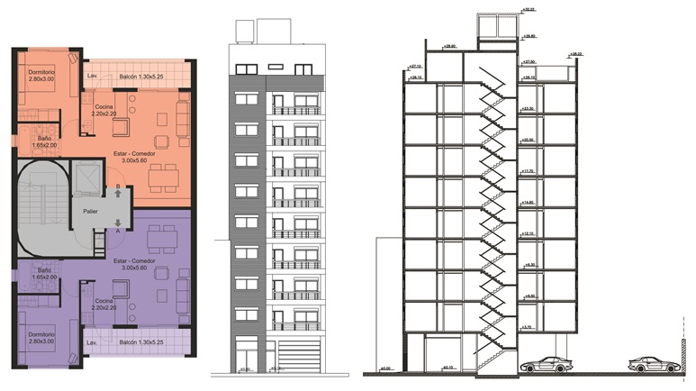 Costos construcción por metro cuadrado edificios de noviembre 2017