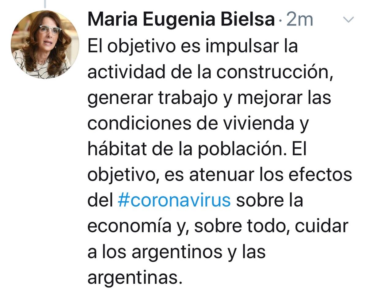 maria Eugenia Bielsa procrear