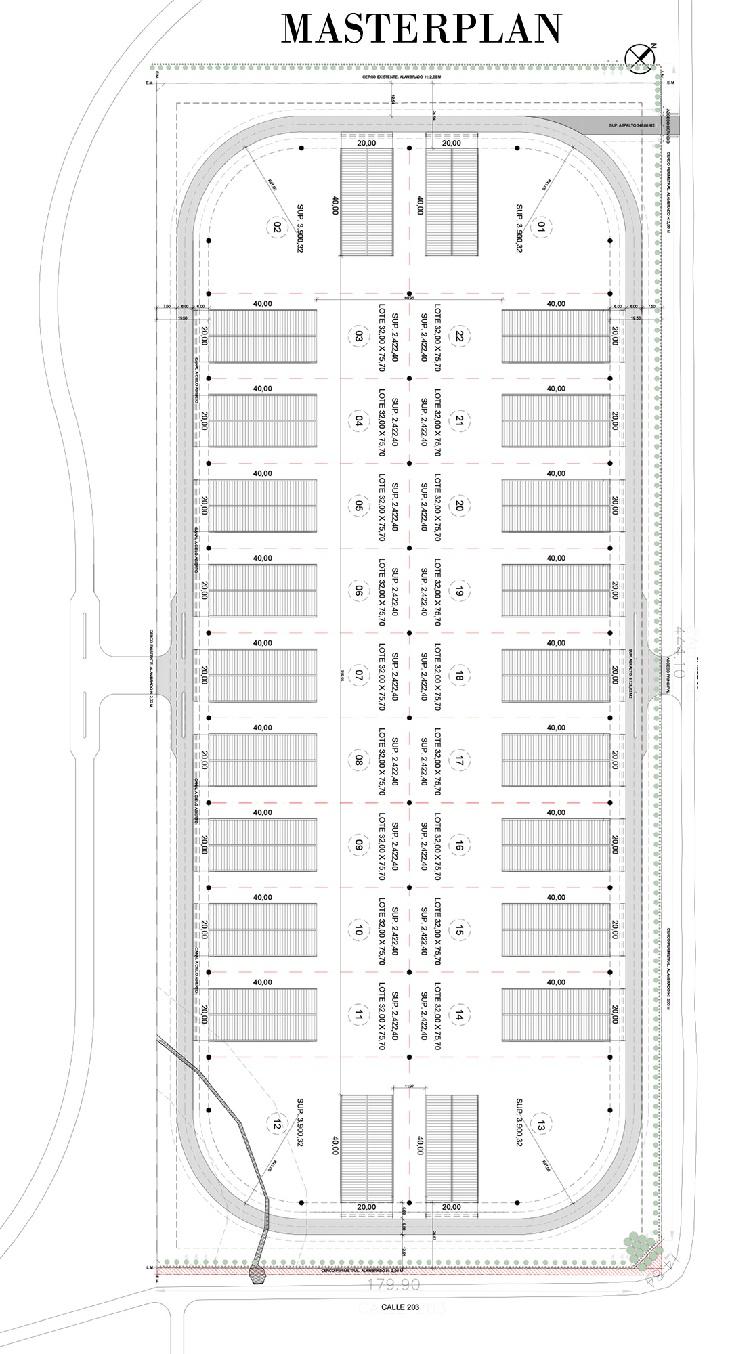 masterplan Pilará Cars Federico Alvarez Castillo