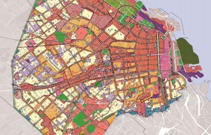 nuevo código de planeamiento para Buenos Aires