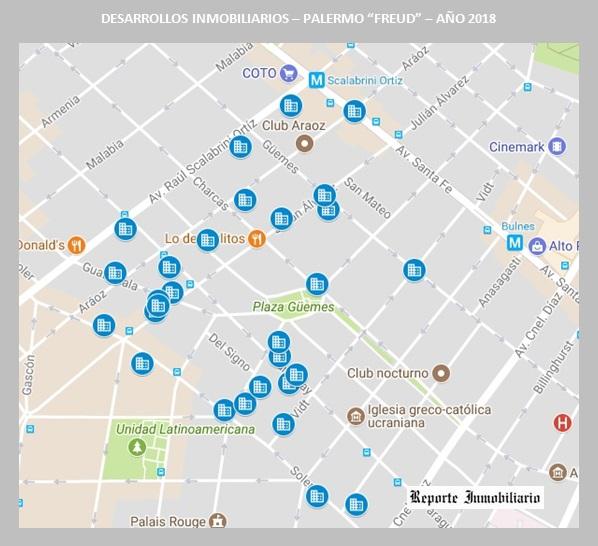 Departamentos desde el pozo en Palermo> </p> <p align=