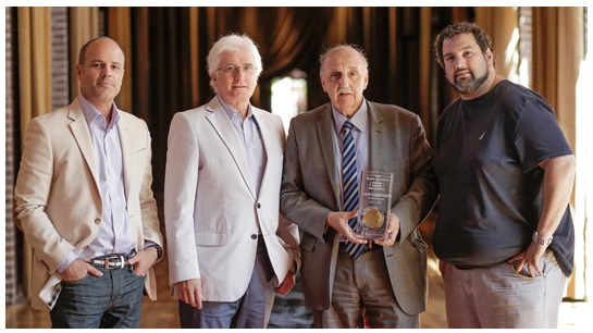 Germán Gomez Picasso (RI), José Rozados (RI), Ernesto Brodschi (QD) y Guido Wainstein (QD)