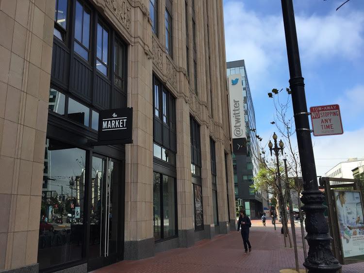 Las oficinas de Twitter en 1355 Market Street, San Francisco